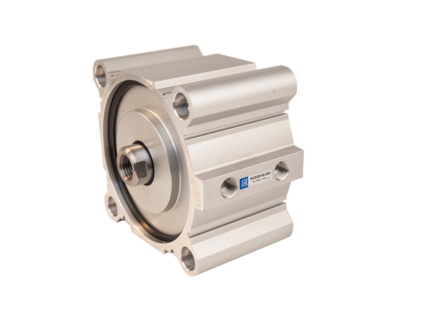 大缸径薄型气缸 KCQ2 (∅125~200)