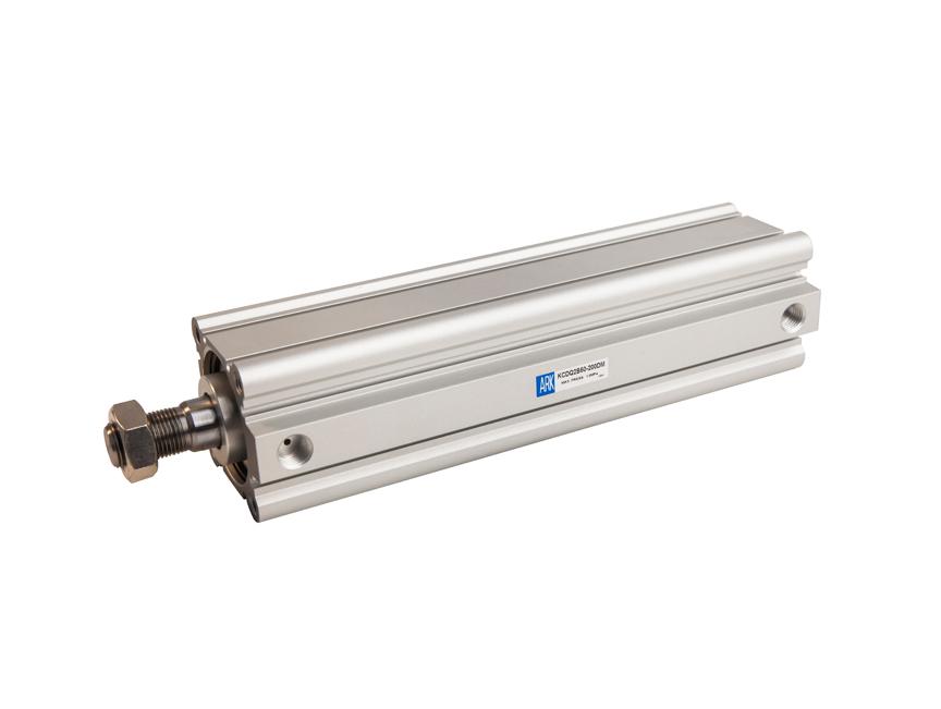 长行程薄型气缸 KCQ2 (∅32~∅100)
